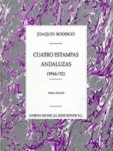 4 Estampas Andaluzas RODRIGO Partition Piano - laflutedepan