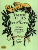 Complete Etudes For Solo Piano Volume 1 - laflutedepan.com