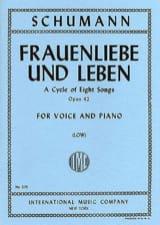 Frauenliebe Und Leben Opus 42. Voix Grave SCHUMANN laflutedepan.com