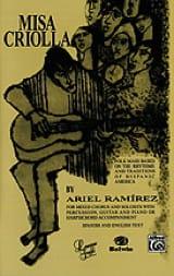 Misa Criolla Ariel Ramirez Partition Chœur - laflutedepan.com