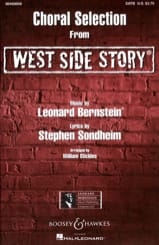 Leonard Bernstein - West Side Story Choral Sélection - Partition - di-arezzo.fr