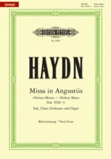 Missa In Angustiis Nelson-Messe Hob 22-11 HAYDN laflutedepan.com