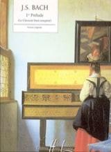 1er Prélude Bwv 846 BACH Partition Piano - laflutedepan.com