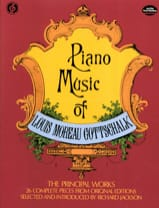 Piano Music Louis Moreau Gottschalk Partition Piano - laflutedepan.com
