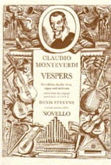 Claudio Monteverdi - Vespers to the Virgin Mary - Sheet Music - di-arezzo.com