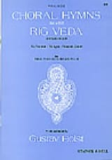 Choral Hymns From The Rig Veda. 2° Groupe - laflutedepan.com