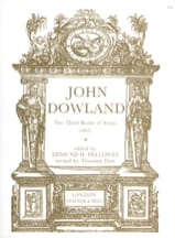 John Dowland - The 3rd Book Of Songs - Partition - di-arezzo.fr