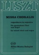 Missa Choralis. Franz Liszt Partition Chœur - laflutedepan.com