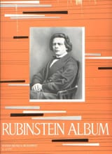 Album Anton Rubinstein Partition Piano - laflutedepan.com