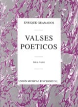 Enrique Granados - Poetic Waltzes - Sheet Music - di-arezzo.co.uk