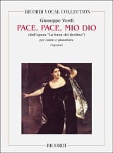 VERDI - Pace, Pace, Mio Dio. Forza Del Destino - Sheet Music - di-arezzo.co.uk