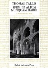 Thomas Tallis - Spem In Alium Nunquam Habui - Partition - di-arezzo.fr