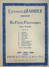 Scherzo-Valse Emmanuel Chabrier Partition Piano - laflutedepan.com