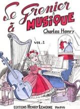 Le Grenier A Musique Vol 2 Charles-Henry Partition laflutedepan.com