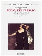 VERDI - Addio Del Passato. the Traviata - Sheet Music - di-arezzo.co.uk