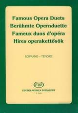 Célèbres Duos D'opéra. Soprano-Ténor Partition laflutedepan.com