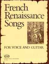 French Renaissance Songs. - Partition - Guitare - laflutedepan.com