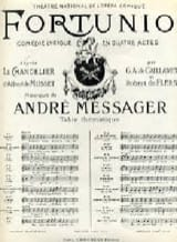 André Messager - If you believe that I will say. Fortunio - Sheet Music - di-arezzo.co.uk