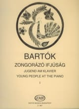Les Jeunes Au Piano Volume 1 Bela Bartok Partition laflutedepan.com