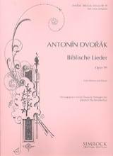 Biblische Lieder Op. 99 Version Fischer-Dieskau Voix Haute laflutedepan