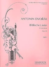 Biblische Lieder Op. 99 Voix Haute Volume 1 DVORAK laflutedepan.com
