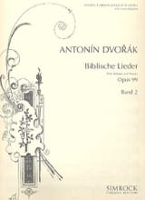 DVORAK - Biblische Lieder Opus 99 Serious Voice Volume 2 - Sheet Music - di-arezzo.co.uk