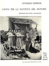 Lauda Per la Nativita Del Signore Ottorino Respighi laflutedepan.com