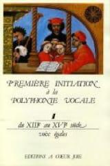 Première Initiation A la Polyphonie Vocale 1 laflutedepan.com