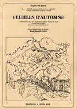 Feuilles D'automne Brigitte Sourisse Partition laflutedepan.com