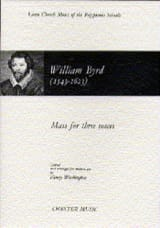 Willam Byrd - Messe Pour 3 Voix - Partition - di-arezzo.fr