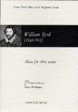 Messe Pour 3 Voix Willam Byrd Partition Chœur - laflutedepan.com