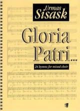 Gloria Patri Urmas Sisask Partition Chœur - laflutedepan.com