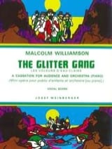 Malcolm Williamson - The Glitter Gang - Partition - di-arezzo.fr