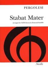 Giovanni Battista Pergolese - Stabat Mater - Sheet Music - di-arezzo.co.uk