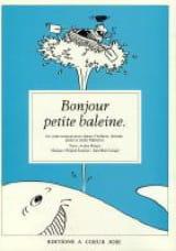 Bonjour Petite Baleine Brigitte Sourisse Partition laflutedepan.com