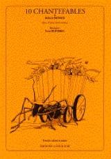 10 Chantefables de R. Desnos Opus 13 Yvon Bourrel laflutedepan.com