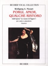 MOZART - Porgi Amor. Nozze Di Figaro - Sheet Music - di-arezzo.co.uk