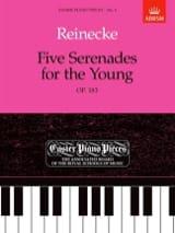 5 Sérénades For The Young Opus 183. Carl Reinecke laflutedepan.com