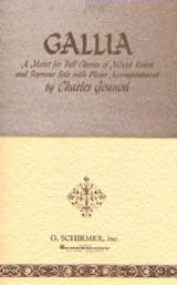 Charles Gounod - Gallia - Sheet Music - di-arezzo.co.uk