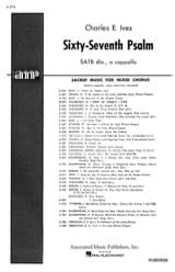 67ème Psaume Charles Ives Partition Chœur - laflutedepan.com