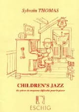 Children's Jazz Sylvain Thomas Partition Piano - laflutedepan