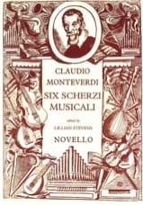 6 Scherzi Musicali - Claudio Monteverdi - Partition - laflutedepan.com