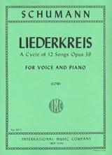 Liederkreis Opus 39. Voix Grave - Robert Schumann - laflutedepan.com