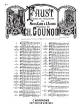Charles Gounod - Make him my confessions. Faust N ° 4 - Sheet Music - di-arezzo.co.uk