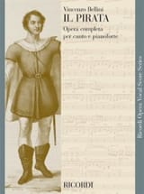Vincenzo Bellini - Il Pirata - Partition - di-arezzo.fr