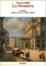 La Straniera Vincenzo Bellini Partition Opéras - laflutedepan.com