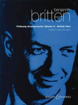 Benjamin Britten - Folksongs Volume 3 Voix Moyenne British Isles - Partition - di-arezzo.fr