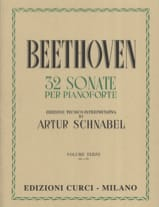 Sonates Volume 3 BEETHOVEN Partition Piano - laflutedepan.com