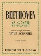 Sonates Volume 2 BEETHOVEN Partition Piano - laflutedepan.com