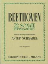 Sonates Volume 1 BEETHOVEN Partition Piano - laflutedepan.com